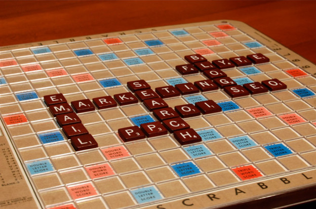 Web Marketing Scrabble