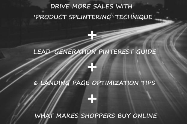 Increase sales technique, leads pinterest, ecommerce infograpghic.