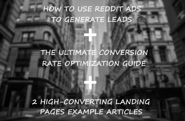 Lead generation reddit, cro guide, landing pages tips.