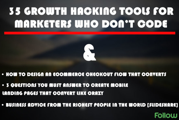 Growth hacking tools marketers.