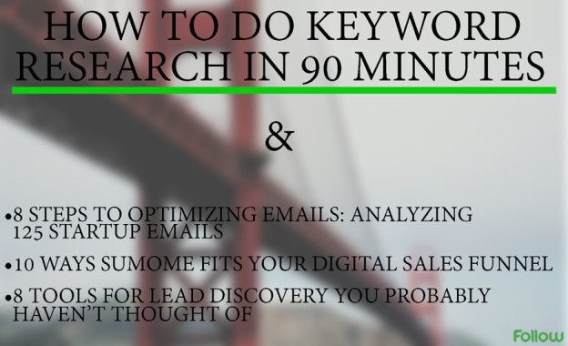Fast keyword research.