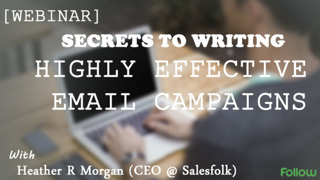 How to write effective email campaigns.