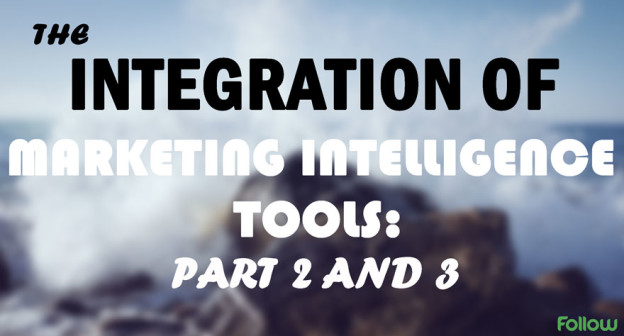 Marketing intelligence integration part 2 and 3.