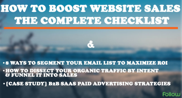 Boost websites sales.