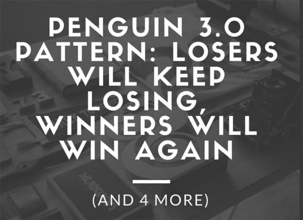 Penguin 3.0 Pattern.