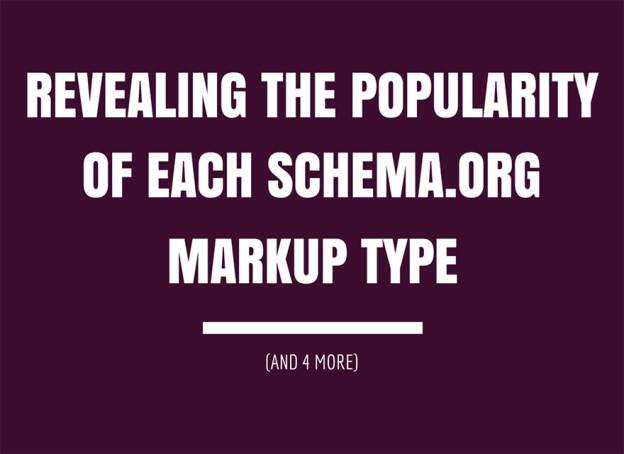 Schema.org markup type.