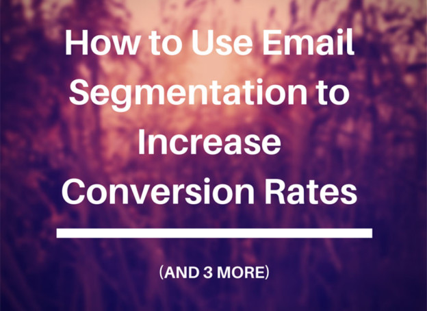 Email marketing segmentation.