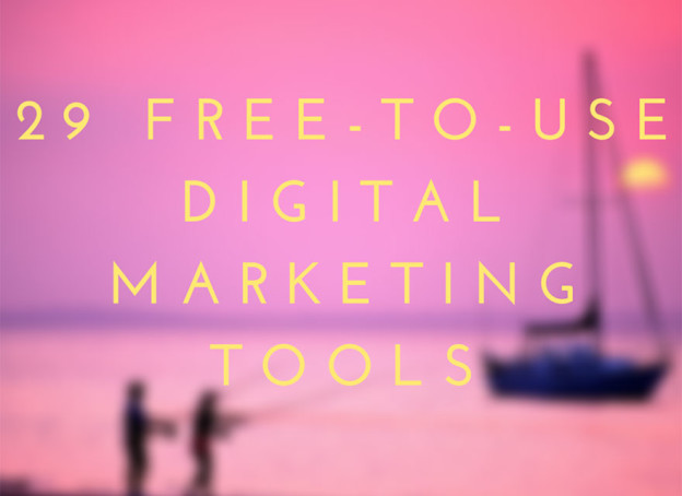 Free marketing tools.