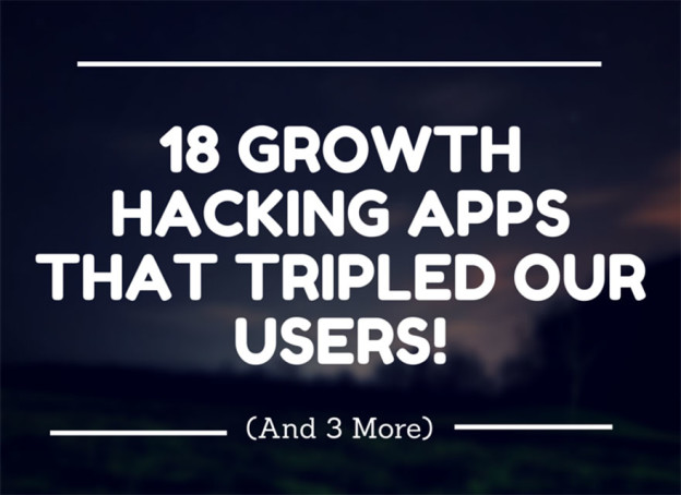 Growth hacking apps.