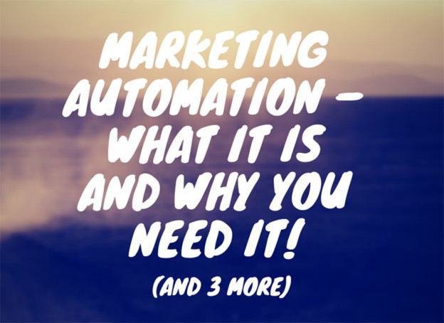 Marketing automation.
